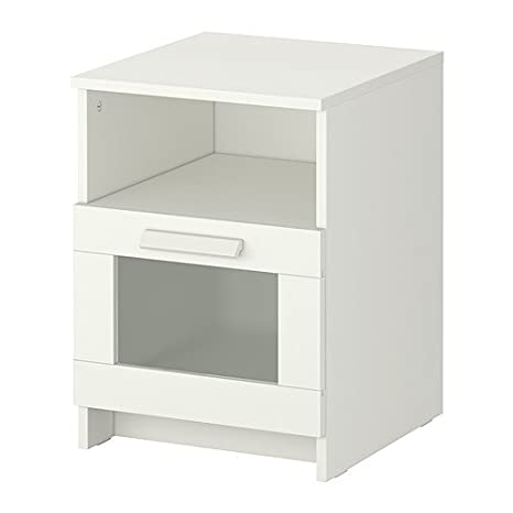 Ikea Brimnes Comodino 39 X 41 Cm Colore Bianco Amazon It Casa