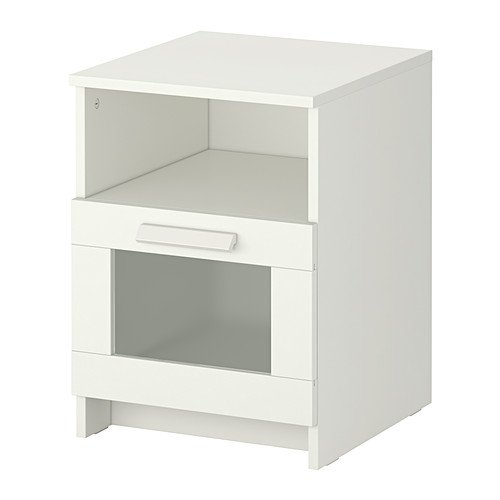 Ikea Nightstand, white 15 3/8x16 1/8