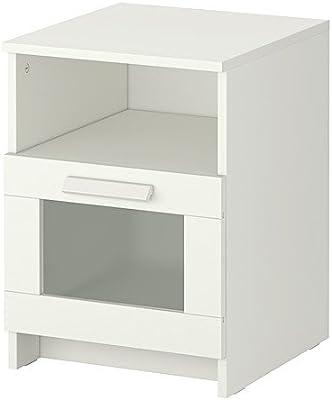 """Ikea Nightstand, white 15 3/8x16 1/8 """", 6210.111429.106"""