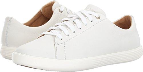 Cole Haan Women's Grand Crosscourt II Sneaker, Bright Leather/Optic White, 7 B US