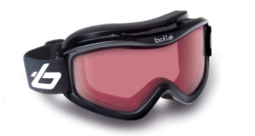 Bolle Mojo Snow Goggles (Shiny Black, Vermillon), Outdoor Stuffs