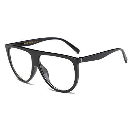 Toopoot Klaring Aanbiedingen Bril, Unisex Vintage Schaduwrijke Lens Dunne Mode Vlieger Zonnebril E