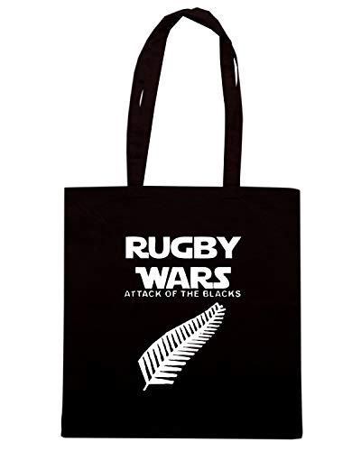 WARS THE Speed TRUG0145 Shirt Borsa ATTACK Shopper RUGBY Nera OF ZY1YfCwq