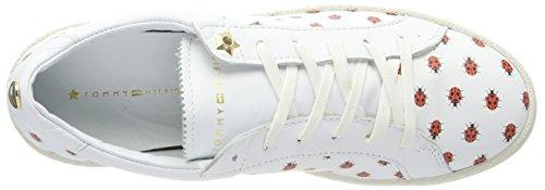 White Basses Femme Tommy Hilfiger Lo Sneakers S1285uzie Blanc 12a gAAwav8q