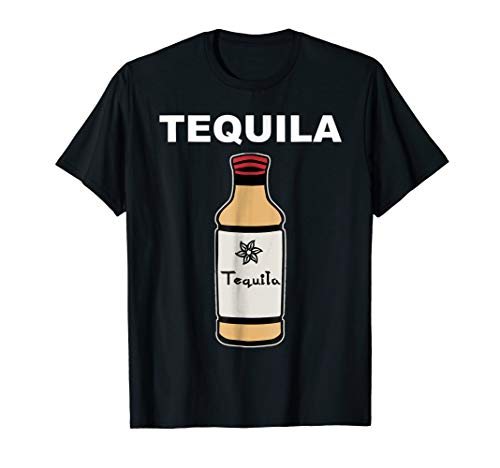 Tequila Bottle Costume T-Shirt Tequila Lime And Salt Group -