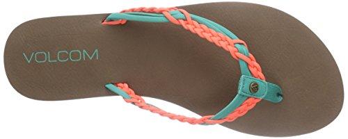 Volcom Tipsy SNDL - Sandalias de Dedo Mujer Multicolor