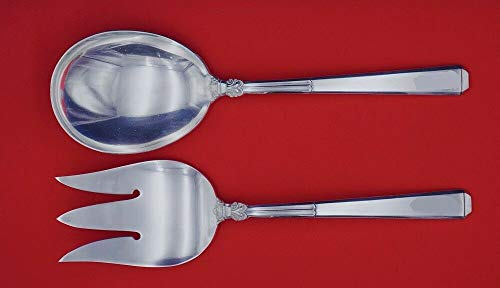- Epic by Gorham Sterling Silver Salad Serving Set 2-piece FH AS 9