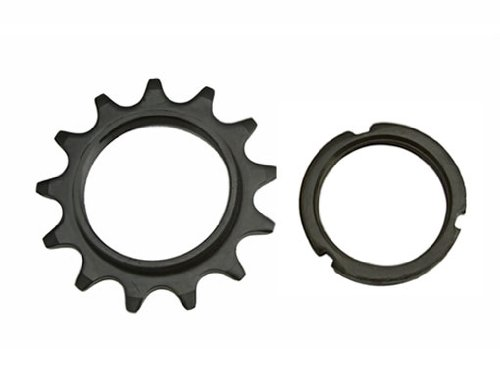 13T Track Fix Cog 1/8 Black. Bike cog, bicycle cog for track bike, fixies, fixed gear bikes by Lowrider