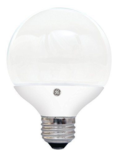GE Lighting 26036 Energy-Smart LED 6.5-watt, 500-Lumen G25 Bulb with Medium Base, Soft White, 1-Pack