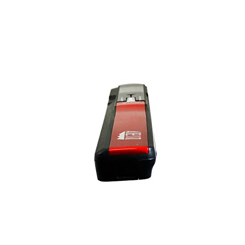 Adesso NUSCAN 300 EZScan Portable Scanner Black/Red
