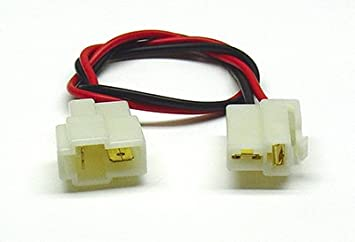 31zo2Cu8VoL._SX355_ amazon com 2 pin male female quick disconnect harness home quick disconnect wire harness 3 pin at bayanpartner.co