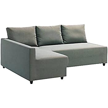 Perfect Heavy Duty Cotton Light Gray Friheten Sofa Cover Replacement Is Custom Made  For Ikea Friheten Sofa