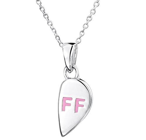 Jo for Girls - CP116A - Collier Enfant avec pendentif - Coeur - Argent 925/1000 3.6 Gr