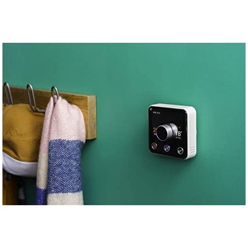 Hive Active Heating Thermostat Without Professional Installation – Works with Amazon Alexa
