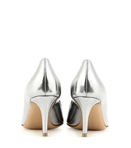 Bureau heel Argent Edefs Shoes Kitten Chaussures Escarpins Cm 6 Pointu Bout Soiree Femme Classique Fermé 6rP6wqX