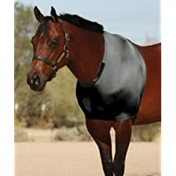 Sleazy Sleepwear for Horses Large Solid Stretch Shoulder Guard Red