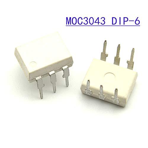 10PCS MOC3043 DIP6 DIP New and Original IC