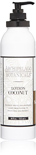 Body Milk Cream (Archipelago  Coconut Lotion , 18 Fl Oz)