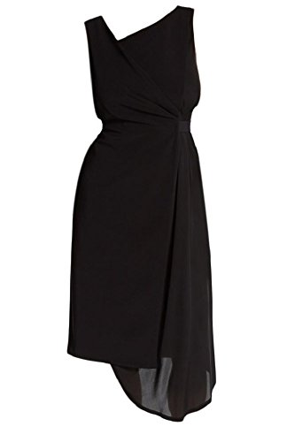 Elie Tahari Lila Mock Wrap Belted Dress (4)