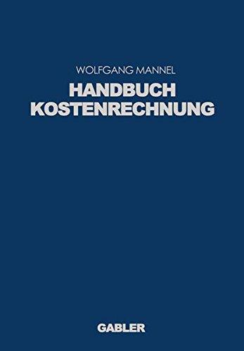 Handbuch Kostenrechnung
