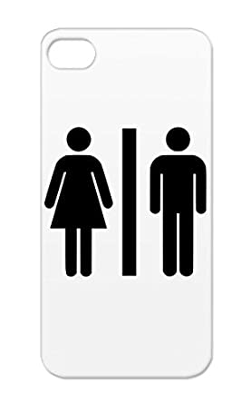 Tpu Woman Men Toilet Sign Women Symbols Shapes Pee Shit Shape Shirt