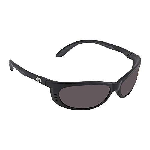 - Costa Del Mar Fathom Polarized Sunglass, Black/Copper 580Plastic