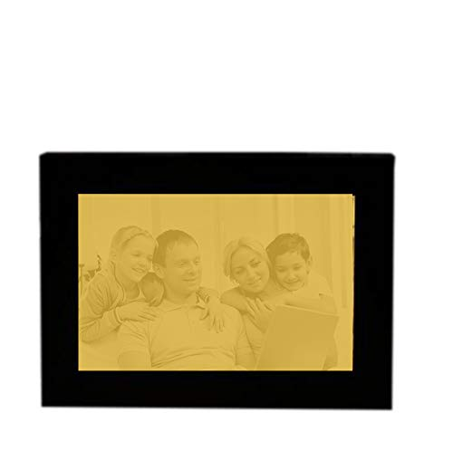 - Personalized Photo Frame with Lights, Engraving Photo Frame Grandfather Dad Birthday(Blue 8.912.7cm/5inch)