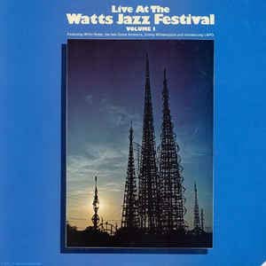 LIVE AT THE WATTS JAZZ FESTIVAL VOL. 1 FACTORY SEALED COT CORNER