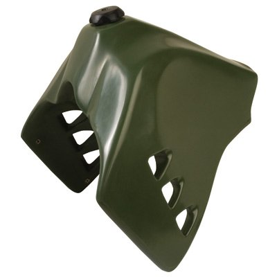 No CA 1987-2007 Kawasaki KLR650 IMS Fuel Tank 6.6 Gallon- Green