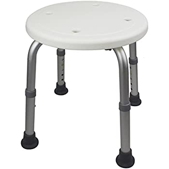 Amazon Com Ez2care Adjustable Lightweight Shower Stool