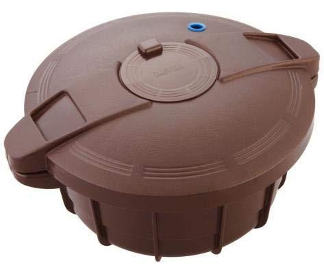 MadPrice Olla a presión para microondas, 35 x 30 cm, plástico ...