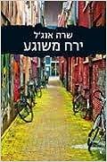 Book Crazy Moon- By Sarah Angel - Hebrew books /israeli Literature
