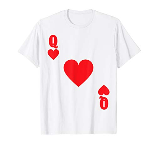 (Playing Card Queen of Hearts Group Halloween)