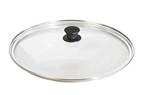 Lodge Tempered Lids Glass Lid  Fits15 Inch Cast Iron Skillet