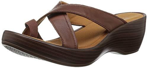 (Eastland Women's Willow Slide Sandal, Walnut, 9 M US )