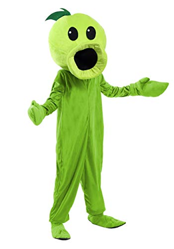Plants Vs Zombies Child Peashooter Costume Small (6) (Plants Vs Zombies All Plants And Zombies)