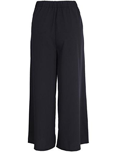 Simplee Women Ladies Casual Loose Wide Leg High Waist Belted Palazzo Pants