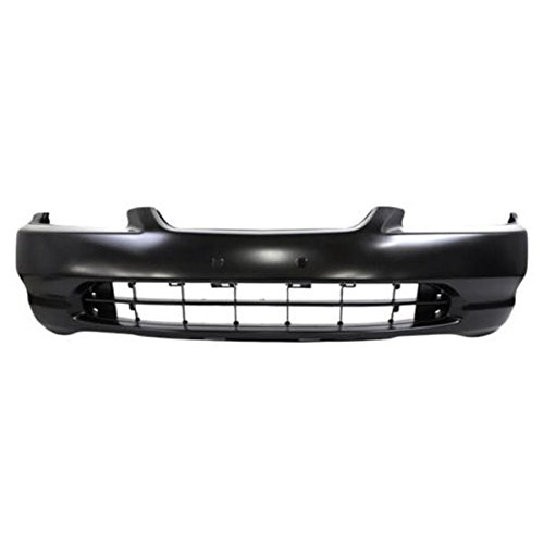 00 Primed Part - Partomotive For 98 99 00 Accord Coupe Front Bumper Cover Assembly Primed HO1000179 04711S82A90ZZ