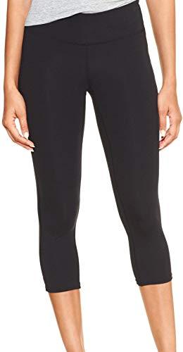 GAP Womens G-Speed GapFit Legging Capris, True Black (S)
