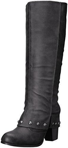 2 Lips Too Womens Listed Boot Black