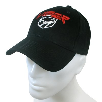 dodge-viper-black-baseball-cap
