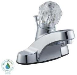Glacier Bay Bathroom Sink Faucet 793950 Touch On Bathroom Sink Faucets Amazon Com