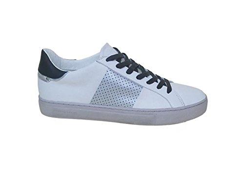 Crime London Uomo Sneaker 11219KS1 10 Sneaker in Pelle Uomo White Elegir Una Mejor Para La Venta Compras En Línea Barato En Línea ReDMQcl