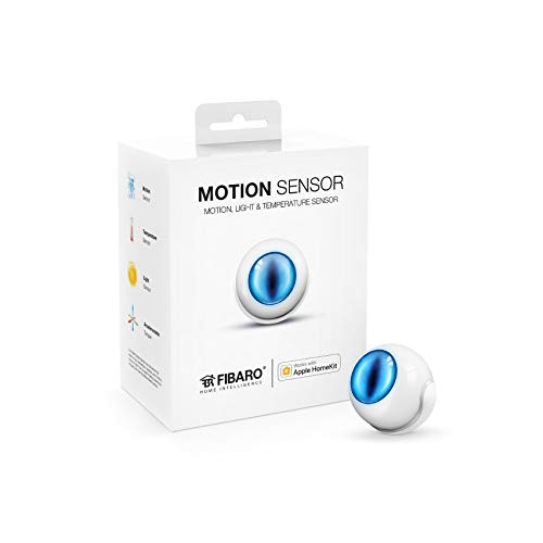 (Fibaro USA FGBHMS-001 Motion HomeKit-Enabled Multi-Sensor,)