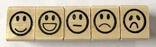 (Smiley Face Rubber Stamp Set)