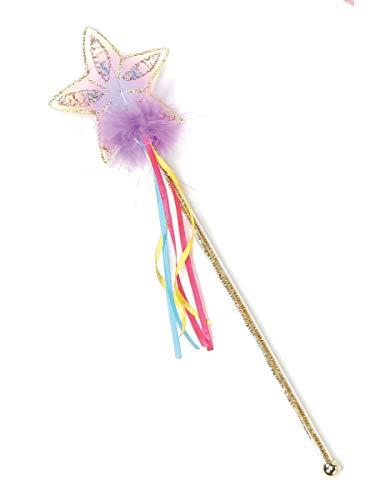 (Creative Education's Gold Rainbow Glitter Star Wand )