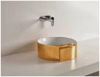 Flaminia Serie Roll rl44l lavabo 44/Apoyo Blanco orificio central