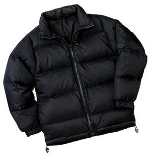 NEW Port Authority Signature - Down Jacket Black-S