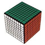 Etbotu Zauberw¨¹rfel Zauberw¨¹rfel 9x9x9 sechs Farbiger Cube Schwarz