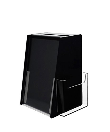 Marketing Holders Ballot Box Comment Suggestion Collection Contest Acrylic Cube 5.5